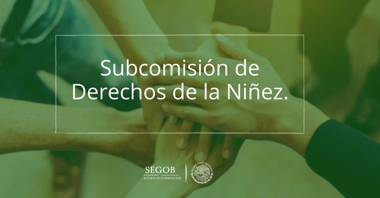 Subcomisión de Derechos de la Niñez.