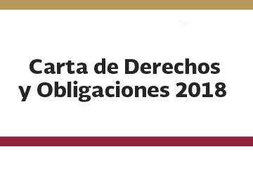 Carta de Derechos y Obligaciones 2018