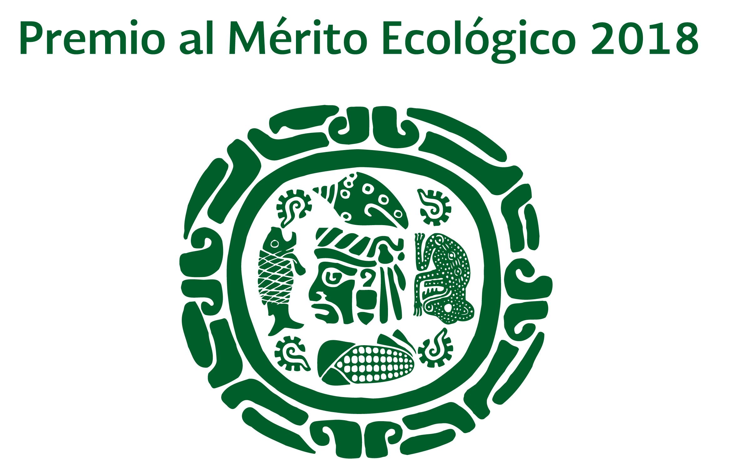 Convocatoria Premio al Mérito Ecológico 2018.