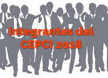 Integrantes del Comité de Ética 2018