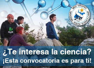 Convocatoria: National Youth Science Camp 2018 (NYSC).