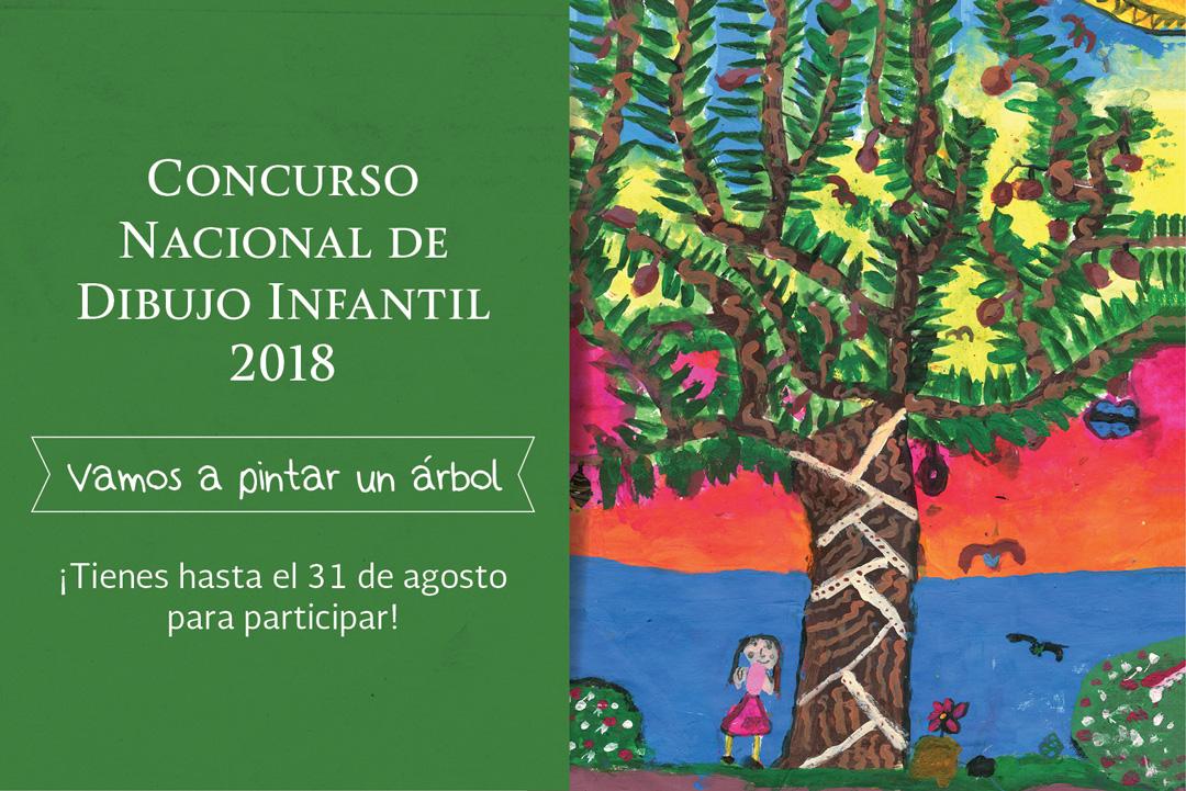 """Concurso Nacional de Dibujo Infantil 2018 """"Vamos a pintar un árbol"""