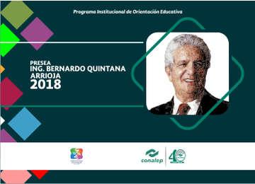 Presea Ing. Bernardo Quintana Arrioja 2018