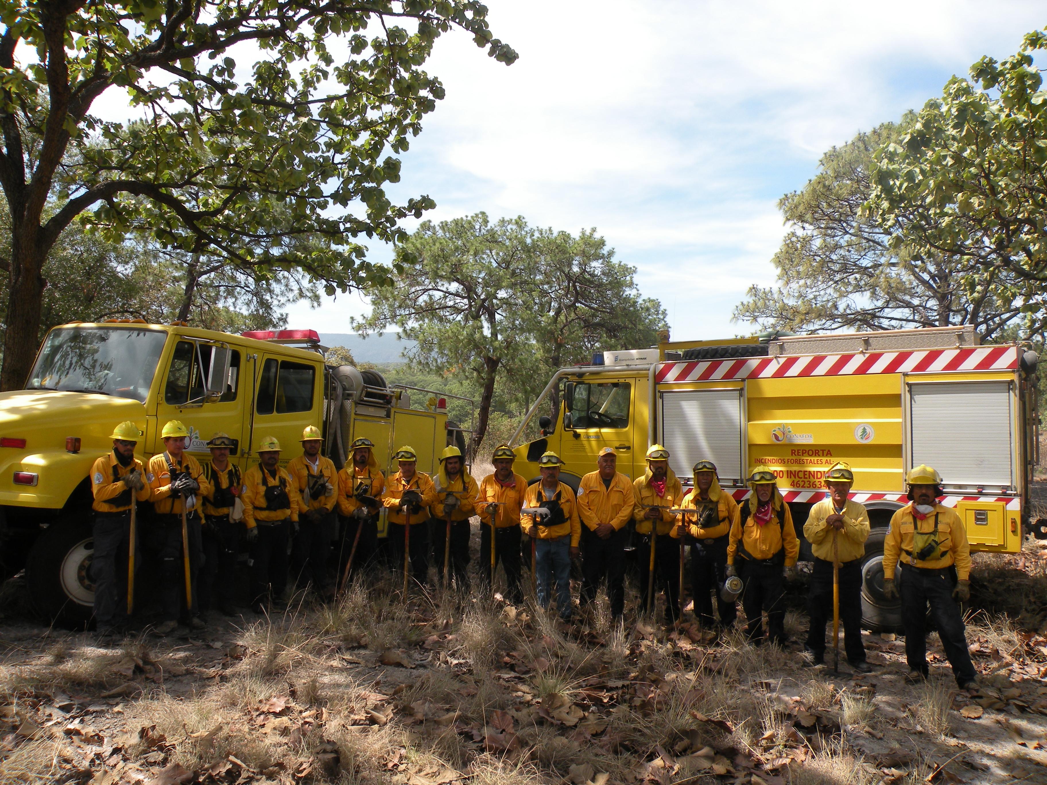 Reconocimiento a Brigadas Especializadas de Combatientes de Incendios Forestales y Técnicos Especializados en el Manejo del Fuego 2018