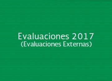 Evaluaciones 2017