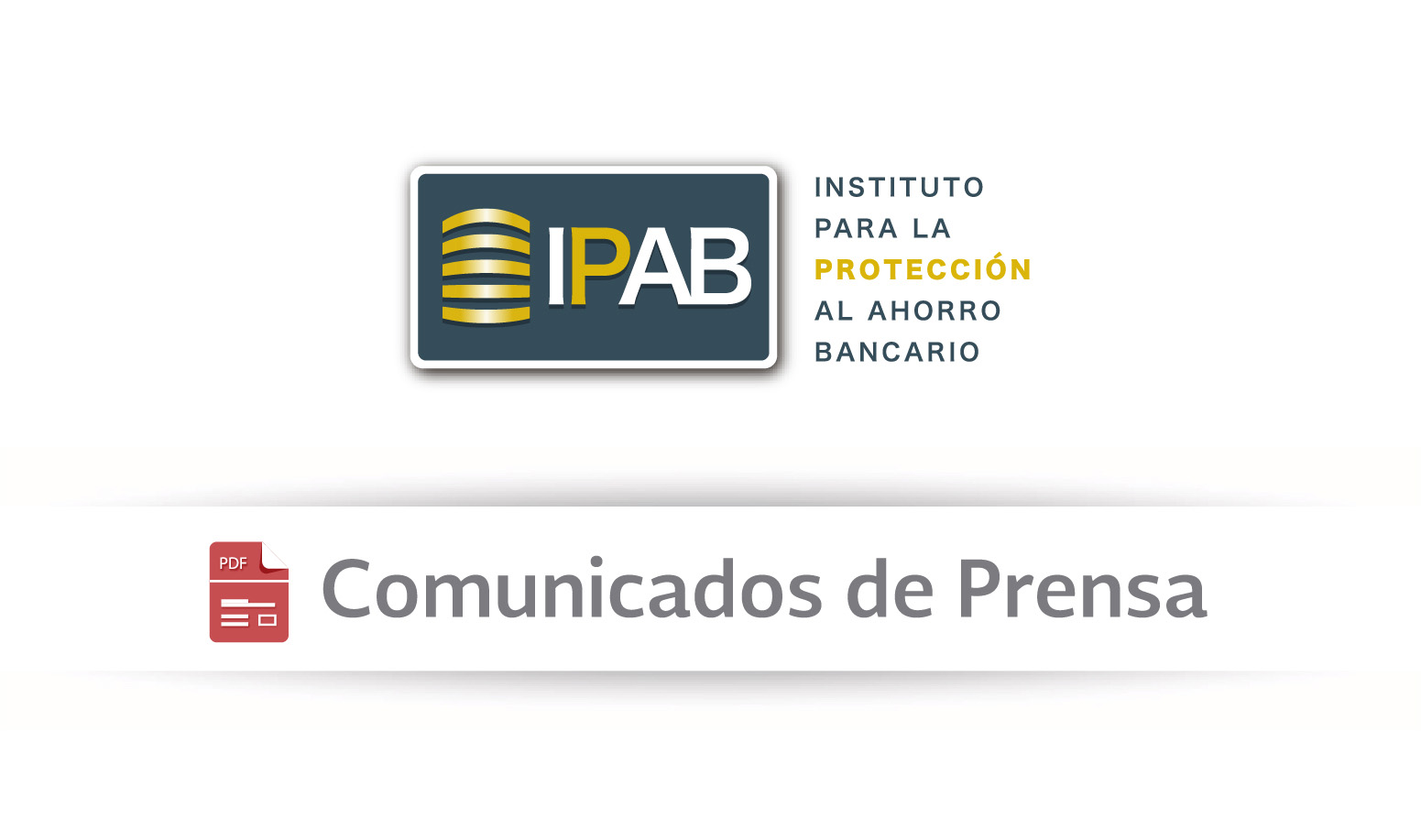 Comunicados de Prensa.