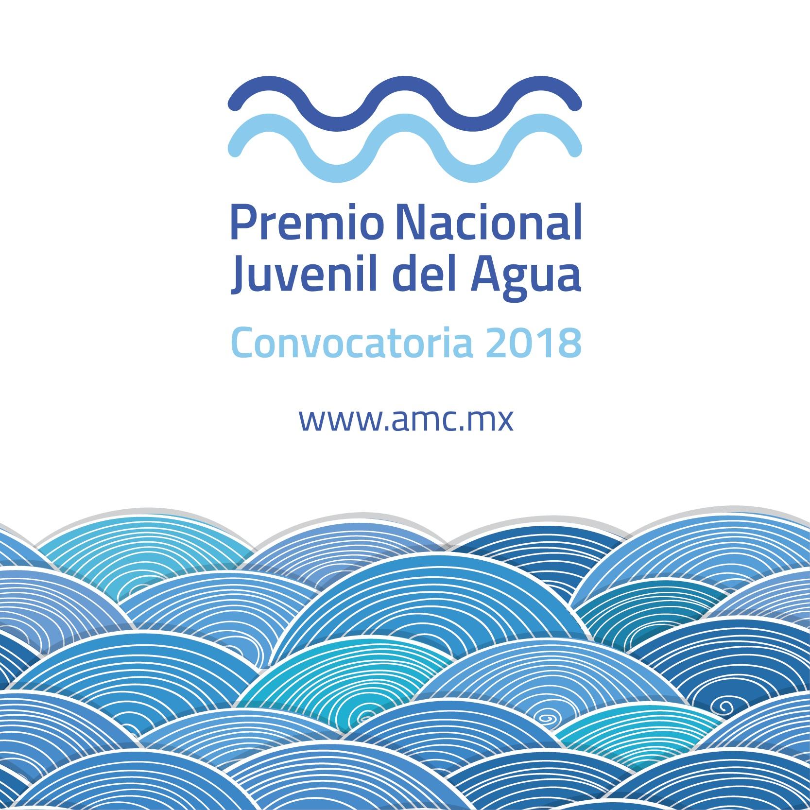 Convocatoria al Premio Nacional Juvenil del Agua 2018.