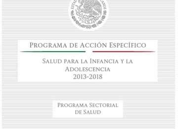 Programa de Acción Específico (PAE) Salud para la Infancia y la Adolescencia