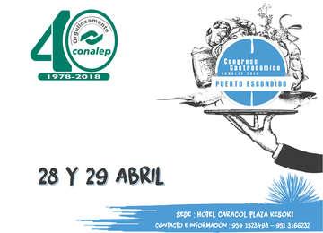 Congreso Gastronómico CONALEP 2018