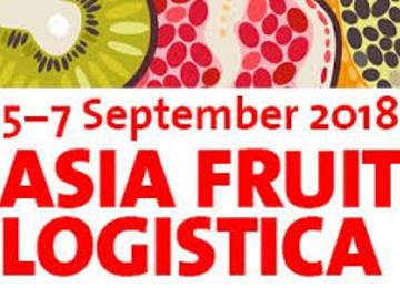 5 al 7  de septiembre de 2018 Asia Fruit Logistica