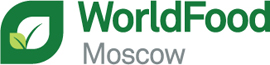 Logotipo World Food Moscow 2018