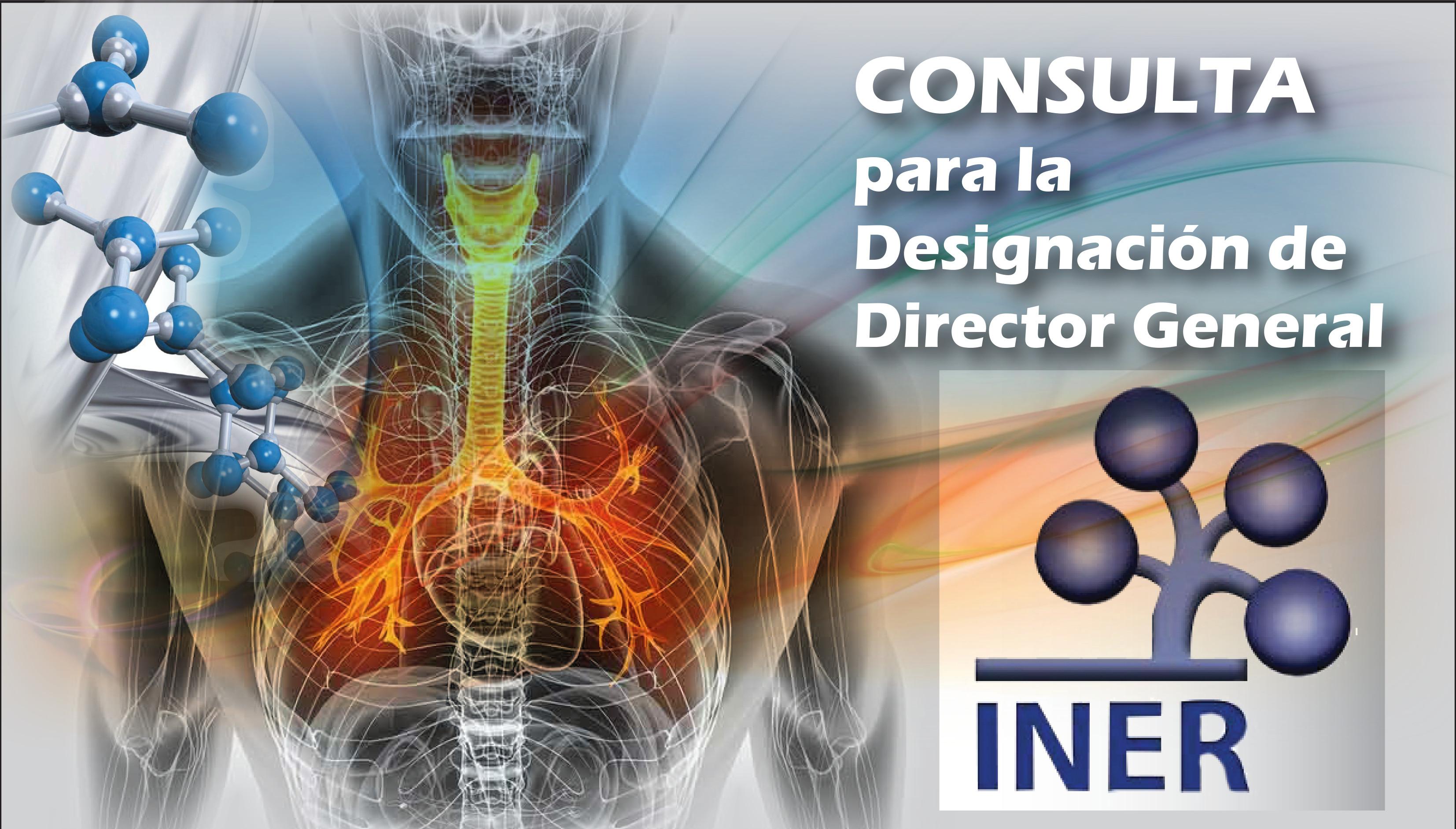 """Consulta para la para selección del Titular de la Dirección General INER """"Ismael Cosío Suárez"""" Villegas"""""""