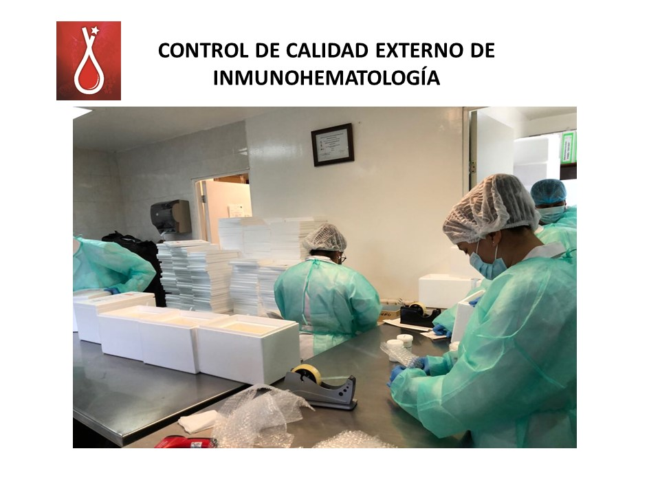 Control de Calidad Externo en Inmunohematologia