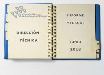 Portada del Informe mensual de la Dirección Técnica