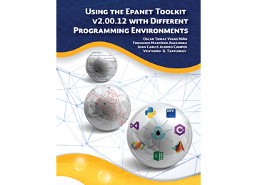 Portada del libro Using the Epanet Toolkit v2.00.12 with Different Programming Environments