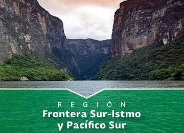 Región Frontera Sur - Istmo y Pacífico Sur