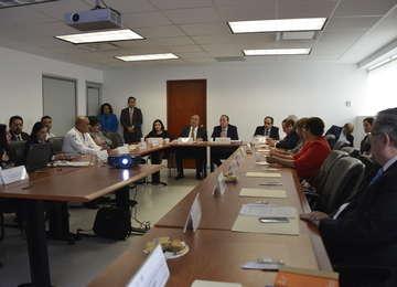 El Comité Consultivo Nacional de Normalización de Seguridad y Salud en el Trabajo en sesión