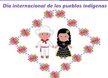 Infografía 09 de agosto. Día internacional de los pueblos indígenas.