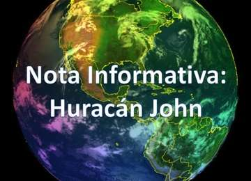 Huracán John se convierte en Categoría I
