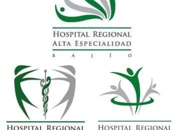 Imagen que contiene los logotipos de cada Hospital de Alta especialidad.