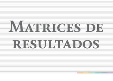 Matrices de Indicadores para Resultados 2018 San Luis Potosí