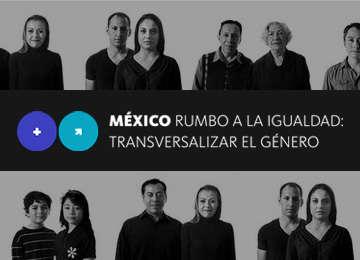 Banner de la plataforma México rumbo a la igualdad