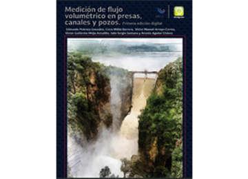 Portada ilustrativa del libro digital medición de flujo volumétrico