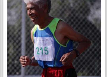 Deportista adulto mayor de Sinaloa.