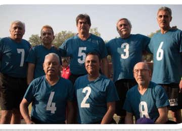 Deportistas adultos mayores de Tamaulipas.