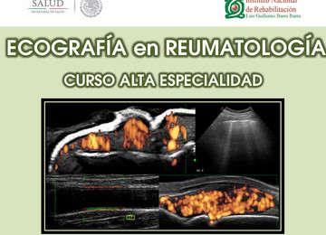 Curso de Alta Especialidad de Ecografía en Reumatología, impartido por el INR