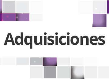 Acta de presentación de servicio Conaliteg. Dpto. de Adquisiciones.