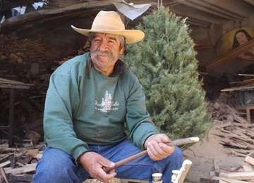 Los árboles de Navidad naturales pueden utilizarse para realizar artesanías