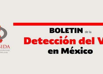 Boletin deteccion del vih en México