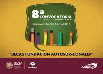 Becas Fundación Autosur-CONALEP