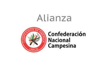 La Confederación Nacional Campesina (CNC) en alianza con inea en 2019