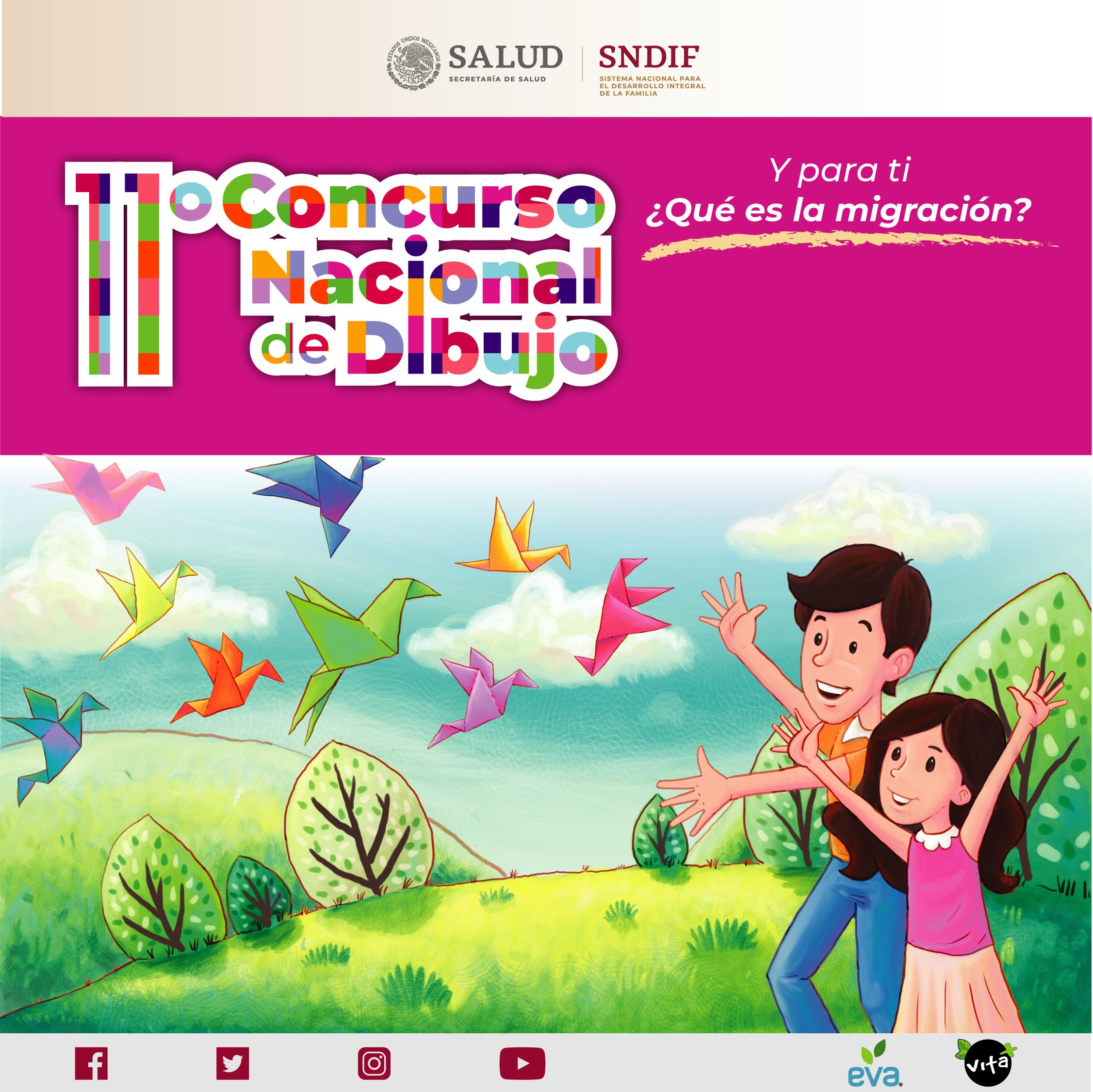 11º Concurso Nacional De Dibujo Y Para Ti Que Es La Migracion Sistema Nacional Dif Gobierno Gob Mx