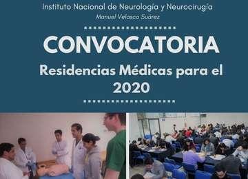 Convocatoria Psiquiatría 2020
