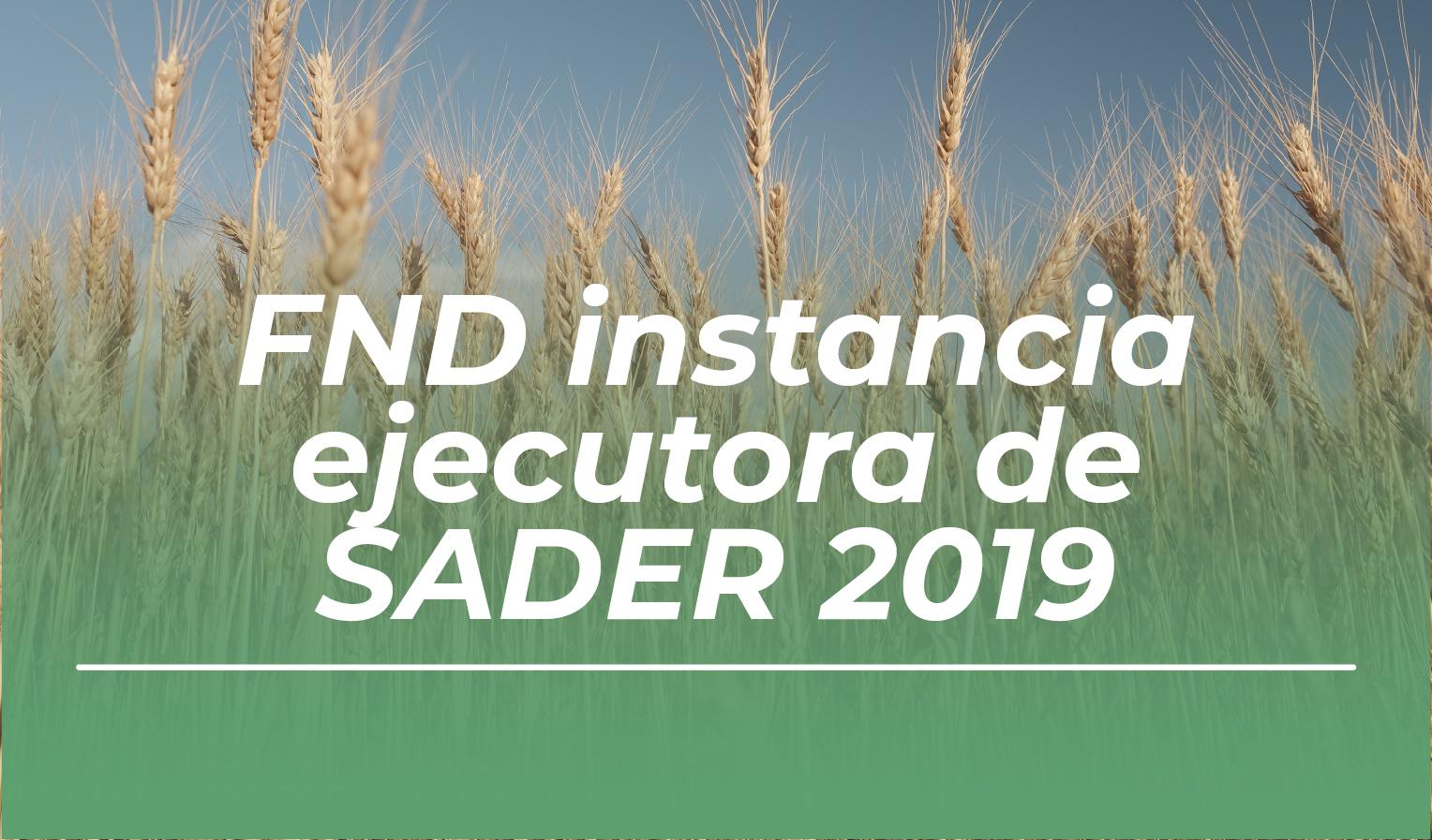 FND - SADER