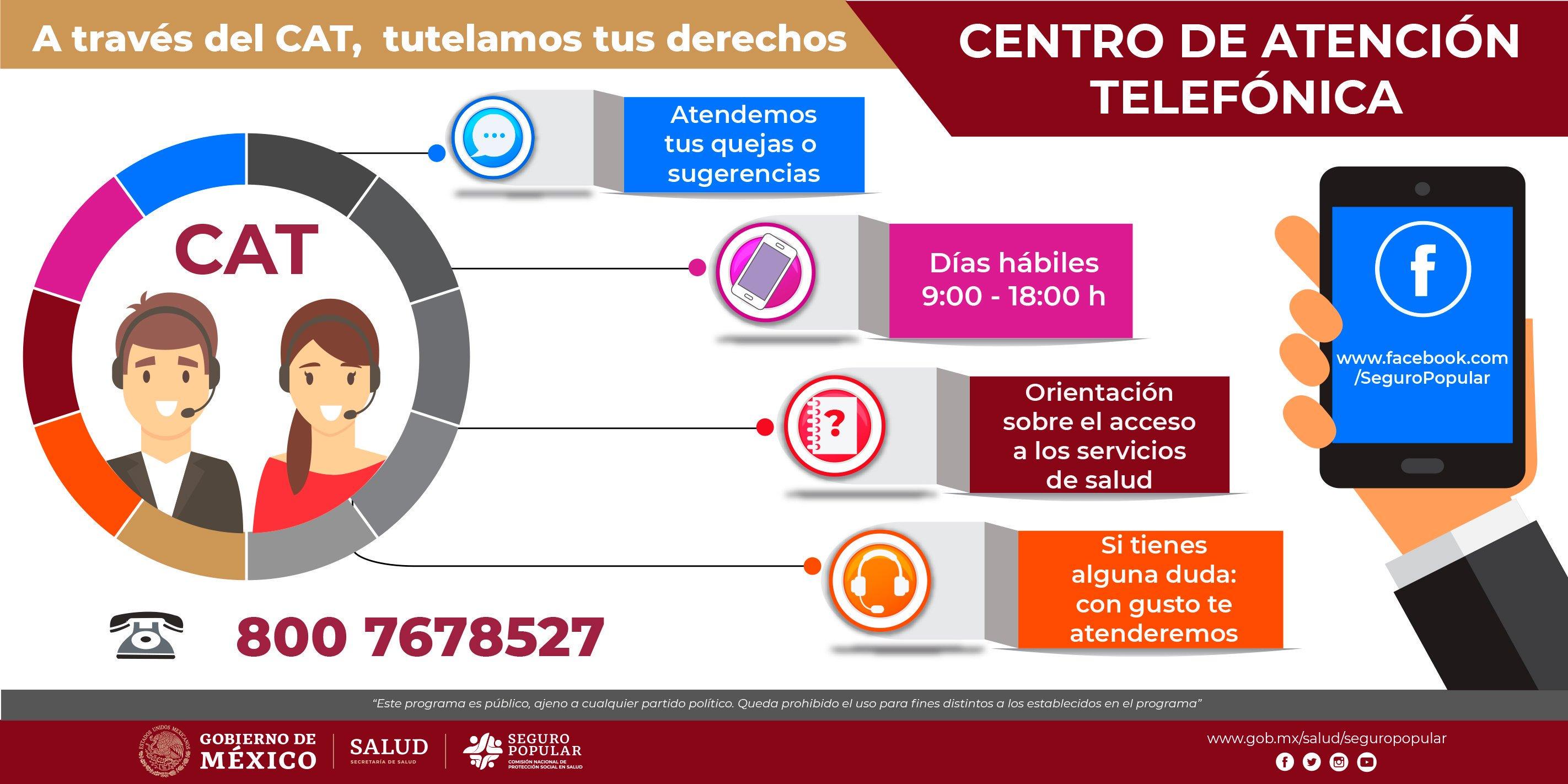 Centro de Atención Telefónica: 800 (POPULAR) 7678 527.