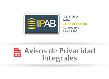 Avisos de Privacidad Integrales.
