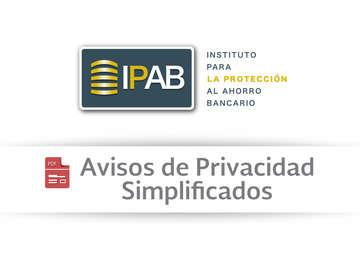 Avisos de Privacidad Simplificados.