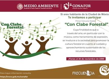 """Convocatoria """"Con clabe forestal"""""""
