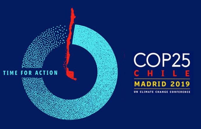 Logo de 25ª CONFERENCIA DE LAS PARTES DE LA CONVENCIÓN MARCO DE LAS NACIONES UNIDAS SOBRE EL CAMBIO CLIMÁTICO