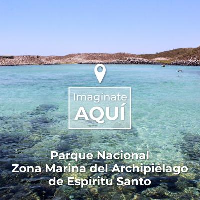 Parque Nacional Zona Marina del Archipiélago de Espíritu Santo.