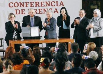 El acuerdo refrenda los ideales de la Cuarta Transformación.
