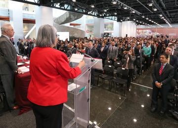 """Palabras de la Secretaria de Economía, Graciela Márquez, en la apertura el Seminario """"Oportunidades comerciales con América del Norte..."""