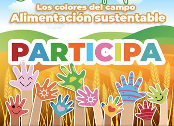 """Concurso de dibujo infantil """"Los colores del campo"""""""