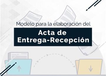 Acta de Entrega-Recepción