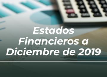 Estados Financieros al Diciembre de 2019