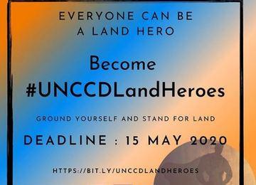 Convocatoria #UNCCDLandHerores